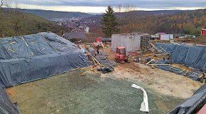Netze BW Baustelle beim Egerweg