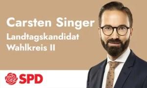 Anzeige zur LTW 21 Carsten Singer
