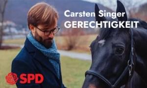Anzeige der SPD zur LTW 21