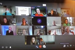 Beiratssitzung per Video