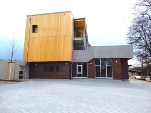 Neues Jugendhaus Wangen vom Wangener Tor aus gesehen