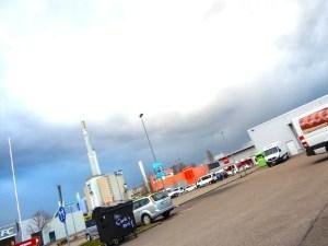 Veba-Areal mit großen Parkplätzen