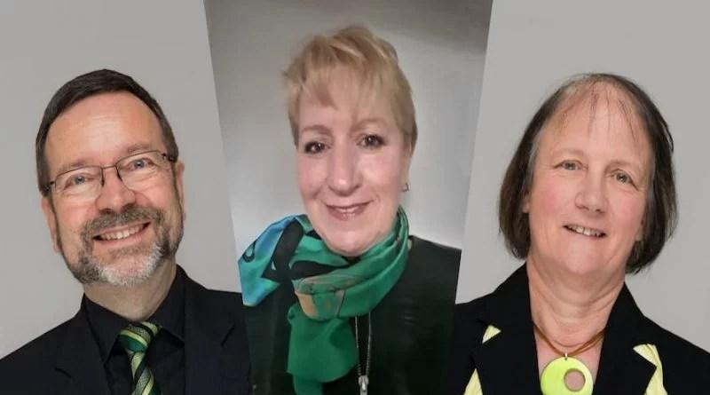 Bernhard Herzog, Ulrike Kuld, Marion Smirek (von links)