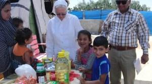 Sister Susan bei Kindernothilfe