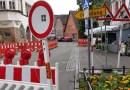 Schilderwald beseitigt – Baustellenchaos beendet