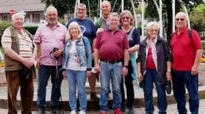 Seniorenausflug der Feuerwehr Hedelfingen nach Freudenstadt Juli 2021