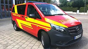 Mercedes MTW Feuerwehr Riedenberg S-FW 2509