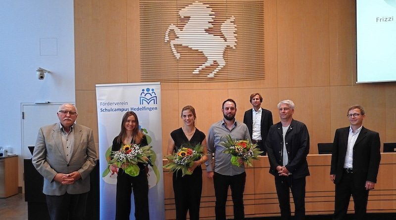 Preisübergane im Stuttgarter Rathaus