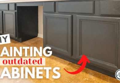 Kitchen Cabinets Using Chalk Paint