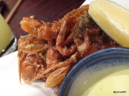 Bone Daddies - Soft Shell Crab (with Green Chilli Ginger Sauce)