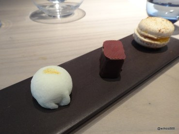 HKK - Petit Fours (beware, the first one contains durian!)