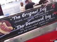 "Munch Street Food - Hougie Dog, a downward ""tofu"" dog?"