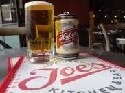 Joe's Southern Kitchen - 'Huber' american beer, wheaty with a distinct sweetness