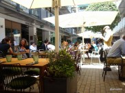 Whyte & Brown - View from the Courtyard tables onto Kingly Court