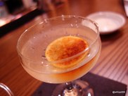 Flesh & Buns - Bone Daddies Gin Martini (extra-dry Bone Daddies gin, dry vermouth, burnt lemon)