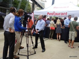 Rentokil Pestaurant - Multiple TV Crews