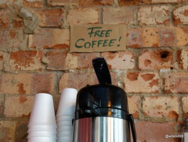 Tommi's Burger Joint - Free Coffee!