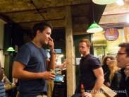 Tom Barton, co-founder of Honest Burgers (Left)