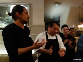 Lima Restaurant London - Congrats to the kitchen staff