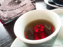 Hutong - Red lanterns in tea