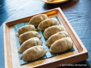 Hutong - Pan friend mix vegetable dumplings