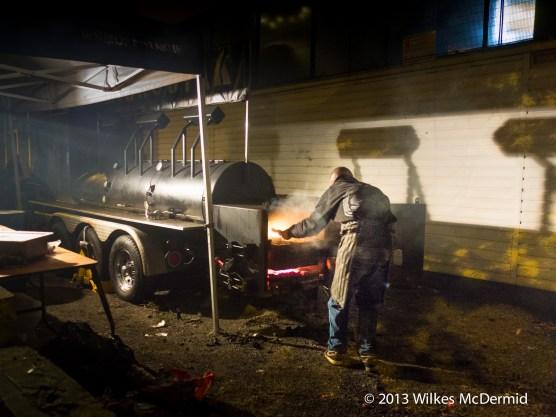 Hawker House - Smoke Stak's huge smoking rig
