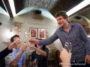 Cheers! Copa De Cava owner Richard Bigg