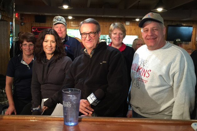WCCO at Wilkins with the owners
