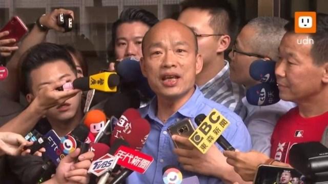 韓國瑜赴北檢提告:吳子嘉說謊抹黑 有責任拿出證據
