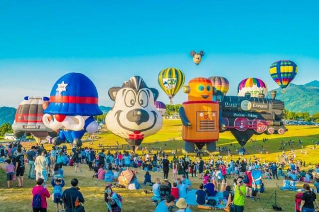 台東遊客創新高!去年破8百萬人次 縣府:熱氣球最吸客