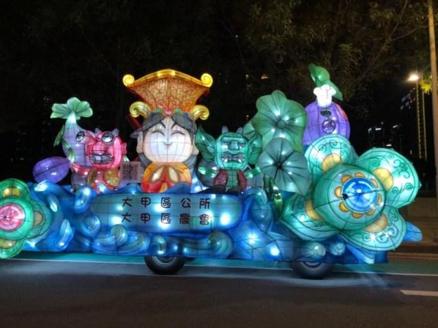 2020台灣燈會在台中 29花燈車燈區展在地特色