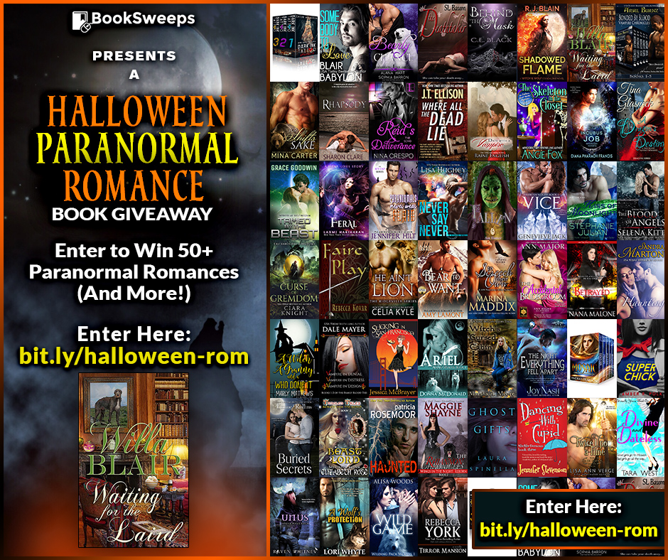 Halloween Paranormal Romance Multi-Author Giveaway - Willa Blair