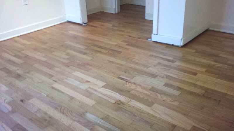 Refinished Waxed red oak hardwood floors  after  Hardwood Floors Salem Oregon  Willamette