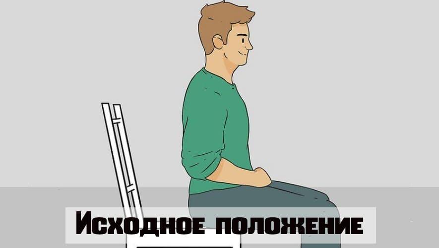 Isometrisk siddende