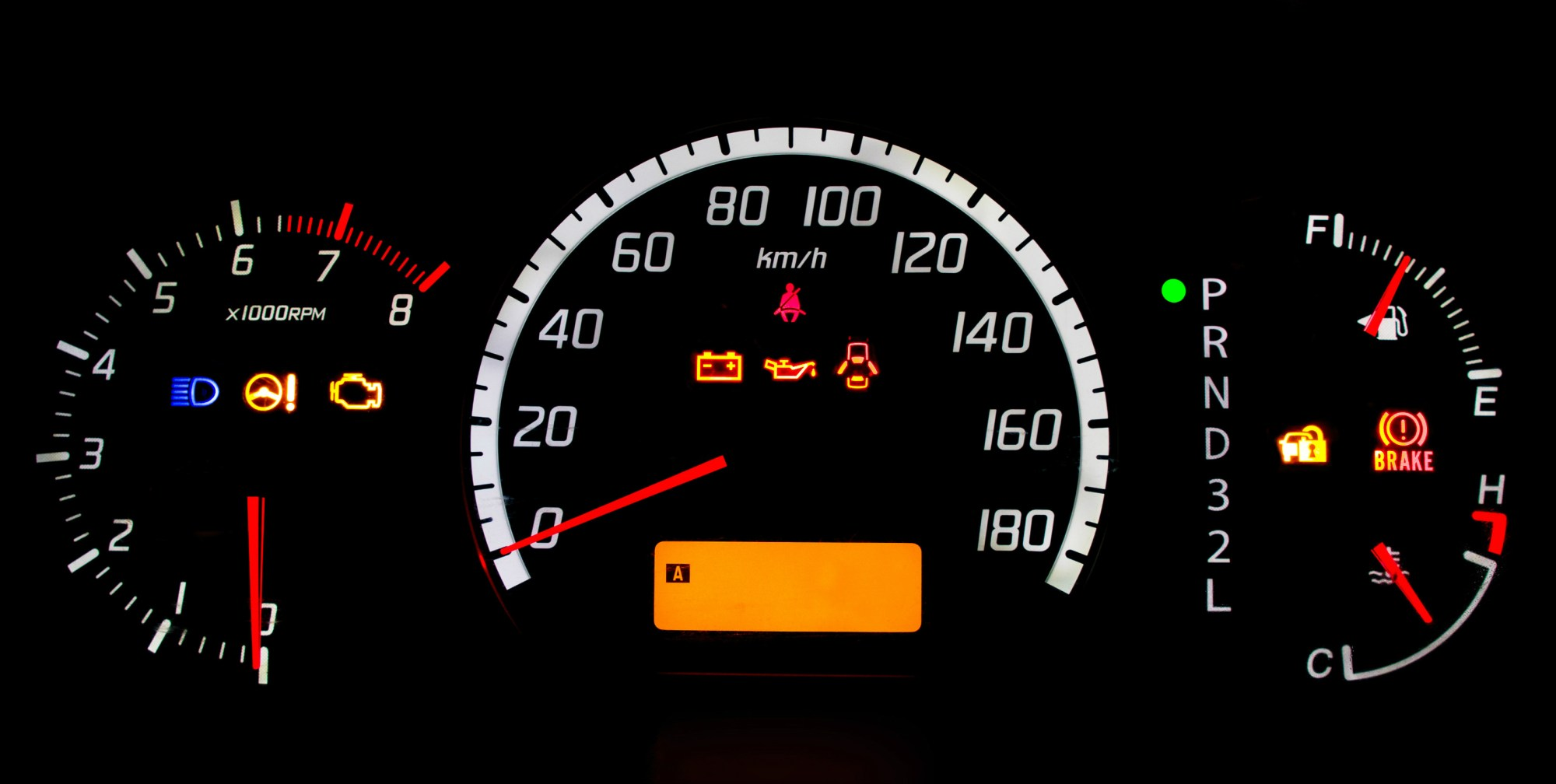 hight resolution of kenworth instrument panel