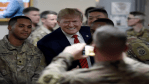 Donald Trump Surprises Troops in Afghanistan for Thanksgiving