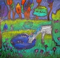 Alexis R., Untouched Serentiy--pastel