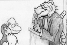 Monkey & Bird on a date