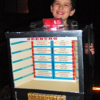 The Seeburg Diner Table Jukebox Remote Halloween Costume