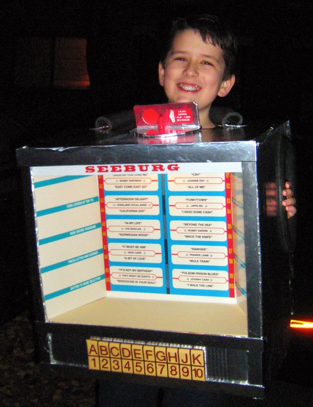 Seeburg Jukebox costume