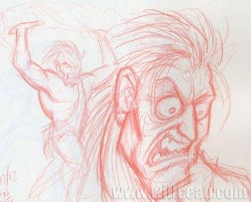 Jungle Man's Berserker Rage