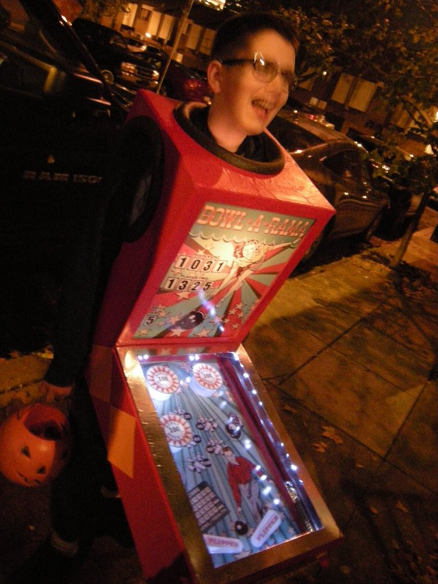 Pinball Machine Costume