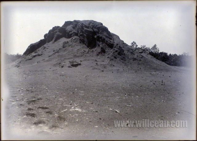 sawdust-pile