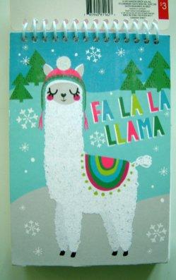 Virgin Llama sketchbook