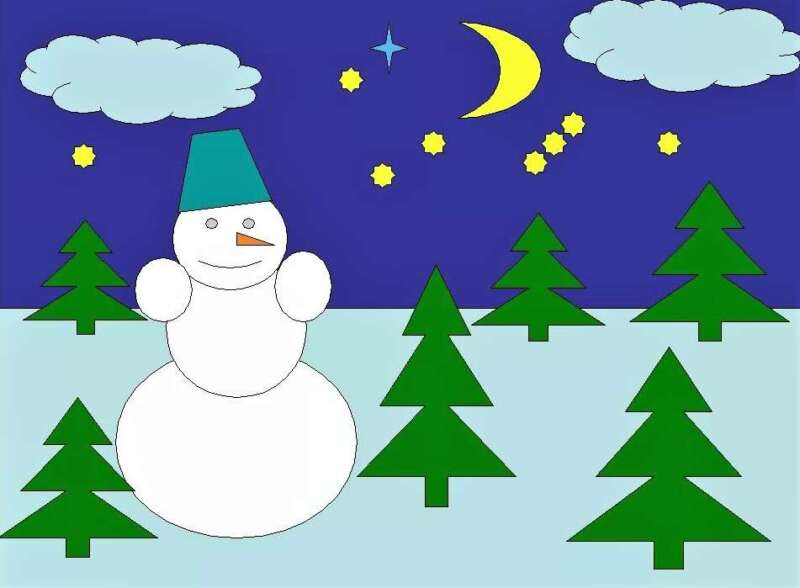 Người tuyết và Giáng sinh