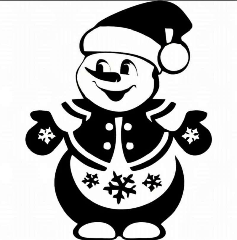 Жаңа жылдық сноуборд