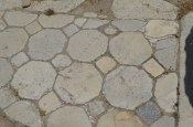 Tiled floor at Laodicea