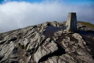 Well trodden peak in the sky