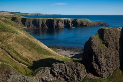 Looking back to Stonehaven