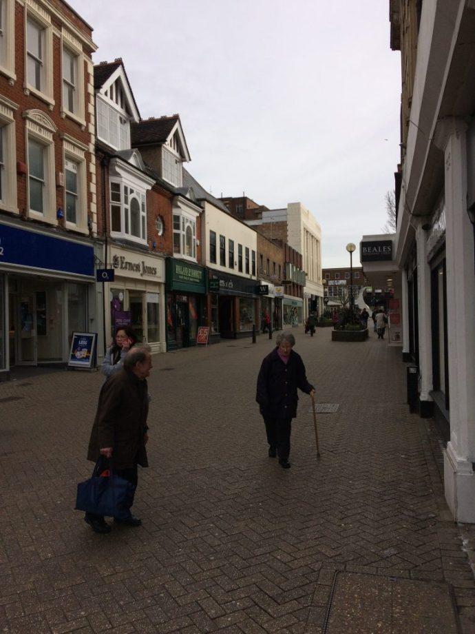 Town centre photo